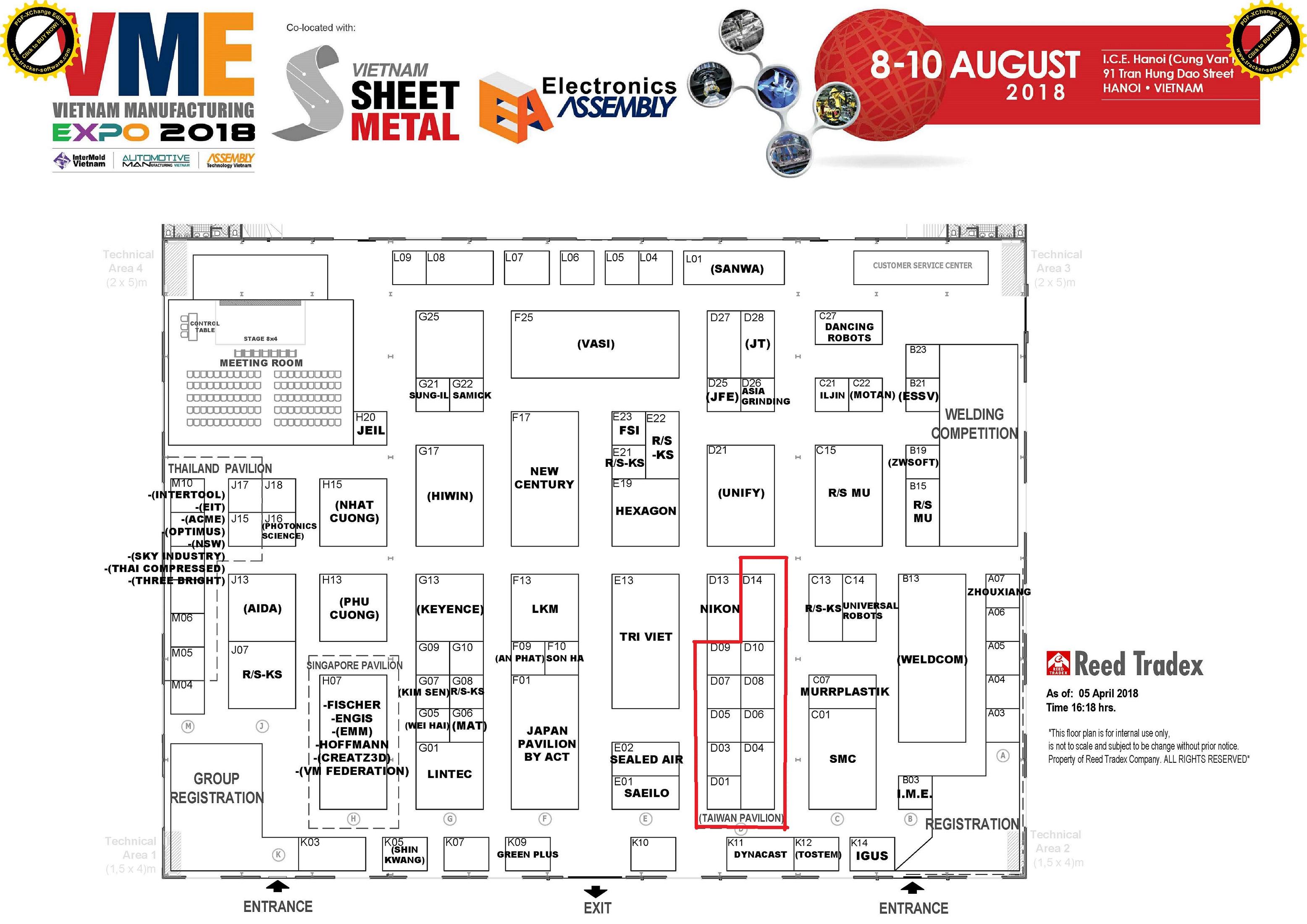 VME2018-Floor-plan